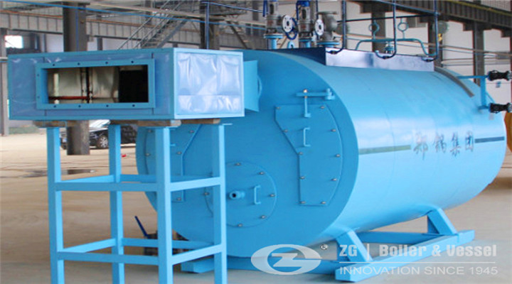 intech three pass internal furnace packaged type boiler